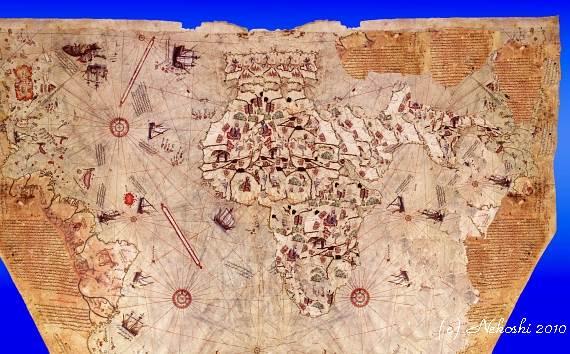 ピリ・レイスの古地図の謎に挑む(第3回): ネコ肉球4個分の幸せ